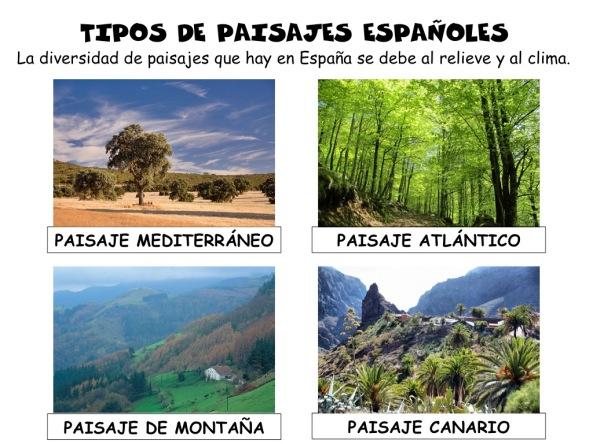 Sociales juntos llegamos lejos - Tipos de paisajes ...